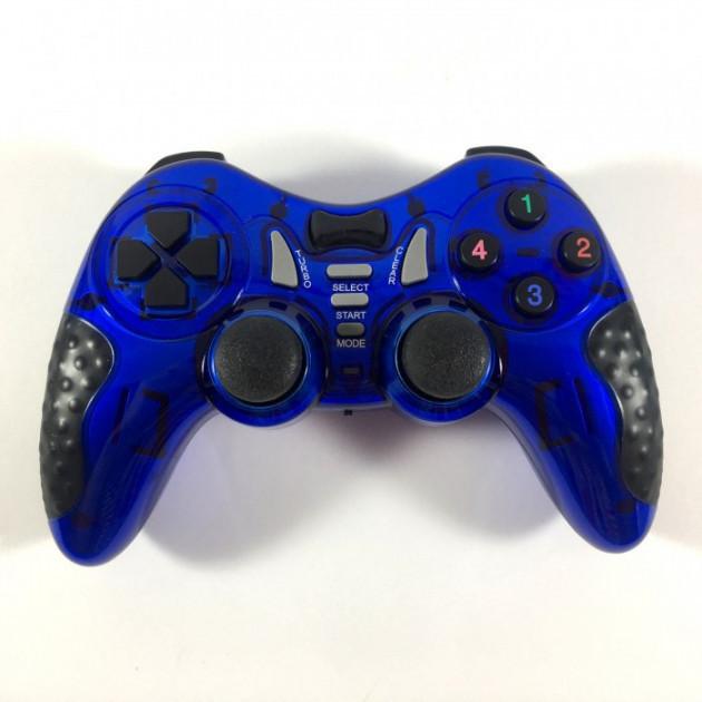 Беспроводной Джойстик Soft Game 6 в 1 для ПК/PS2/PS3/PC360 Синий