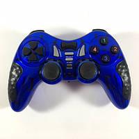 Беспроводной Джойстик Soft Game 6 в 1 для ПК/PS2/PS3/PC360 Синий, фото 1