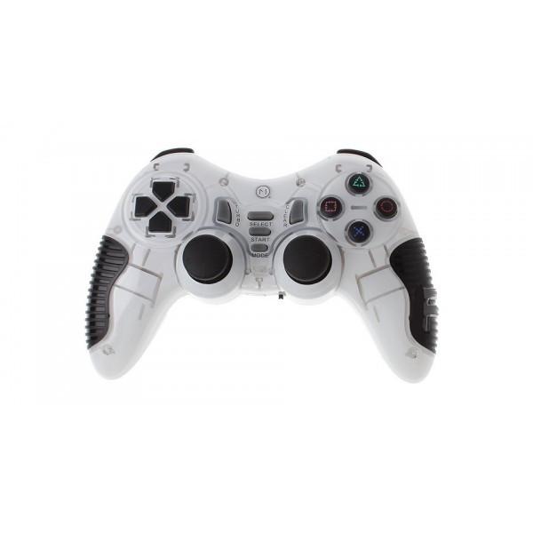 Беспроводной Джойстик Soft Game 6 в 1 для ПК/PS2/PS3/PC360 Белый