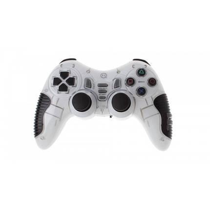 Беспроводной Джойстик Soft Game 6 в 1 для ПК/PS2/PS3/PC360 Белый, фото 2