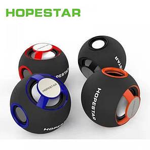Портативная Bluetooth колонка Hopestar H46 Красная, фото 2