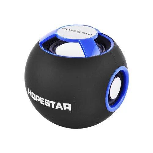 Портативная Bluetooth колонка Hopestar H46 Синяя