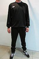 Мужской спортивный костюм Umbro 353113 черный и синий тренировочный код 319 б