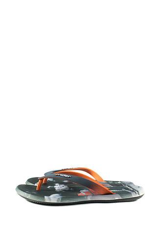 Вьетнамки мужские Rider 10719-24097 серо-оранжевые (43), фото 2