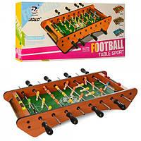 Футбол деревянный на ножках, штангах, поле 48-27см, шкала ведение счета, мяч 2 шт., 1070A