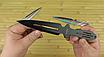 Ножи метательные набор (3 в 1). Длина 230mm. Клинок с защитным покрытием . Сталь м420 не ржавеет, не ломается*, фото 3