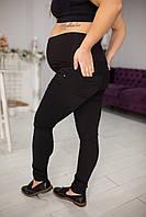 0-79 Джинсы для беременных в черном цвете, фото 1