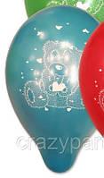 Шар воздушный Мишка Тедди 10 дюёмов
