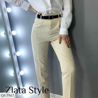 Женские брюки стильные с пояском в комплекте.  Размеры: S-M, M-L. Цвета: молоко, серый, мокко, черный