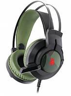 Ігрова гарнітура, навушники з мікрофоном Bloody J437, з підсвічуванням, USB
