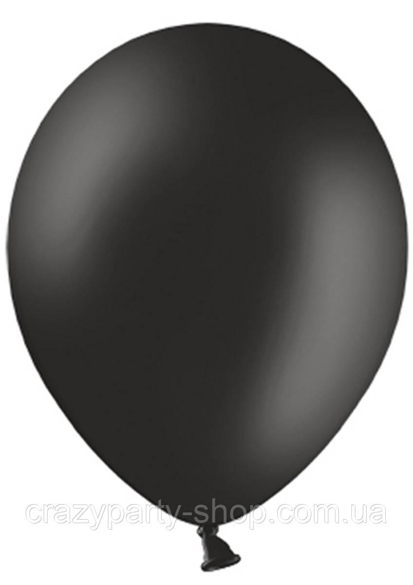 Шарик воздушный Чёрный 10 дюймов