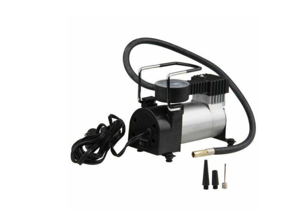 Насос автомобильный с манометром, Компрессор HH399 Air Compressor (single bar gas pump) электро насос