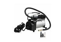 Насос автомобильный с манометром, Компрессор HH399 Air Compressor (single bar gas pump) электро насос, фото 1