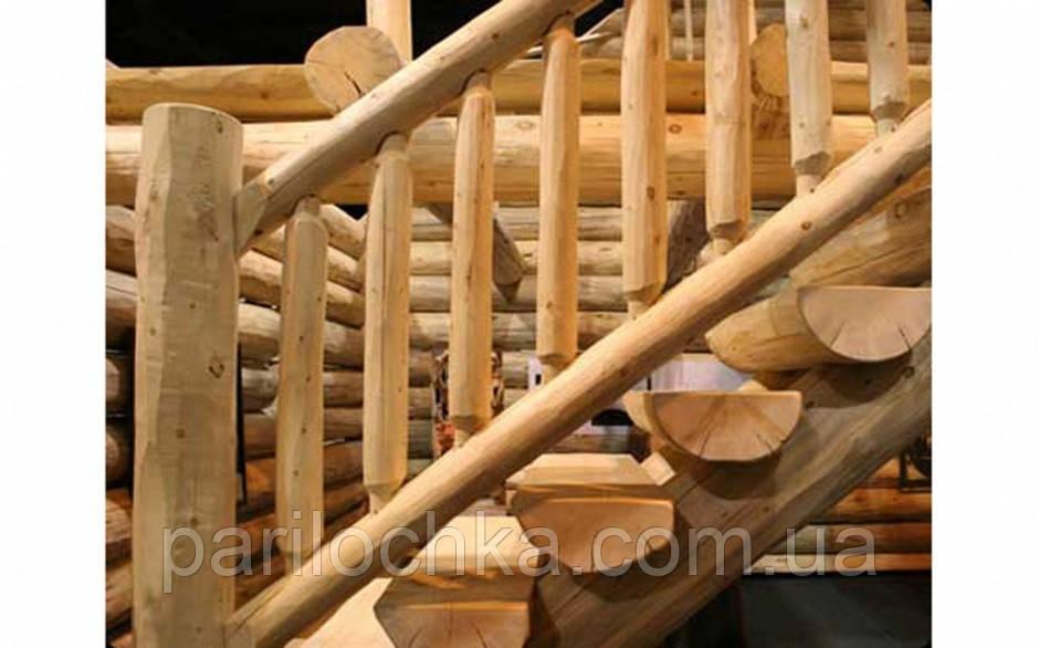 Лестница для сруба