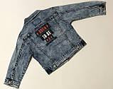 Джинсовая куртка для мальчиков 1-5 лет, фото 3