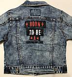 Джинсовая куртка для мальчиков 1-5 лет, фото 4