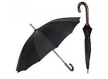 Зонт Антишторм трость Чорний