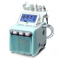 Апарат 6 в 1 (Гидродермабразия, УЗ Скраб, RF-ліфтинг, УЗ терапія, Кріотерапія) H2O2 - 2 покоління