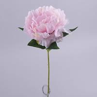 Пион одинарный 57 см. розовый  Цветы искусственные
