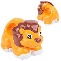 Заводная игрушка 899-3D Львенок, 10 см 2 цвета