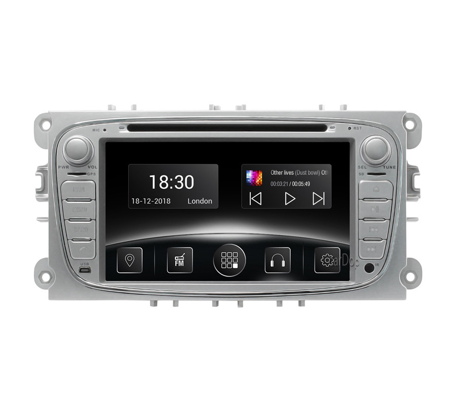 Штатная магнитола Ford Mondeo (BA7), Focus (DB) 2007-2012