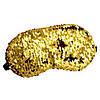 Маска для сну Silenta Fasion Gold + гель