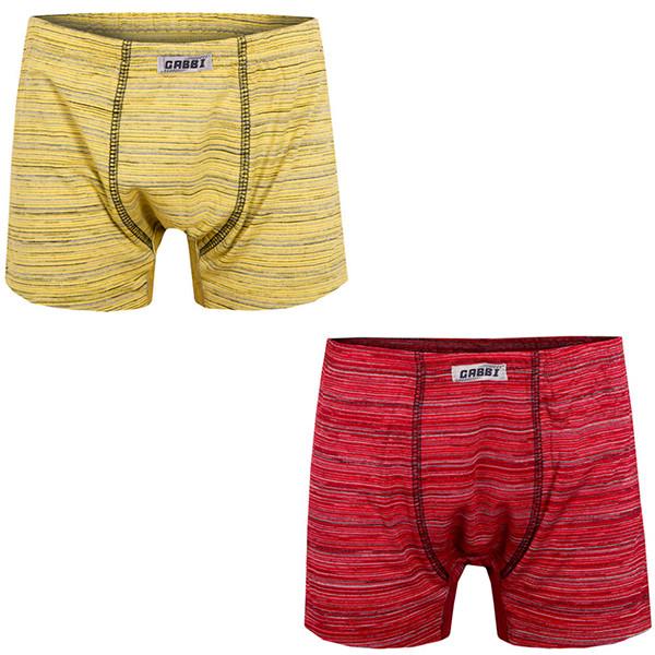 Детские трусы-шорты для мальчика *Меланж-1* размер 38