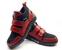Ботинки подростковые демисезонные кожаные Uk0647