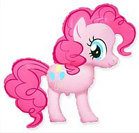 Фольгированный шар фигурный пони Пинки Пай 92х104 см. Flexmetal