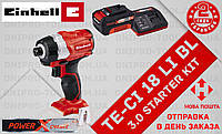 (Power X-Change) Аккумуляторный Ударный гайковерт Einhell TE-CI 18 Li BL (4510030) 3.0 kit