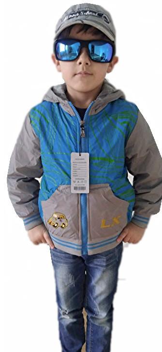 Куртка для мальчика машинка