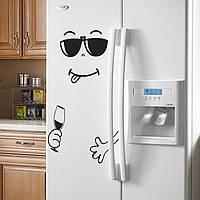 Наклейка на холодильник Хорошего вечера!