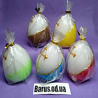 Свечи пасхальные яйца декоративные