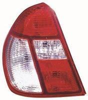 Ліхтар лівий Renault Symbol I SYMBOL червоно-білий (DEPO). 551-1932L-UE-CR