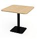 Квадратные столики для кафе баров ресторанов из массива дерева от производителя, фото 8