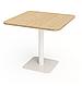 Квадратные столики для кафе баров ресторанов из массива дерева от производителя, фото 9