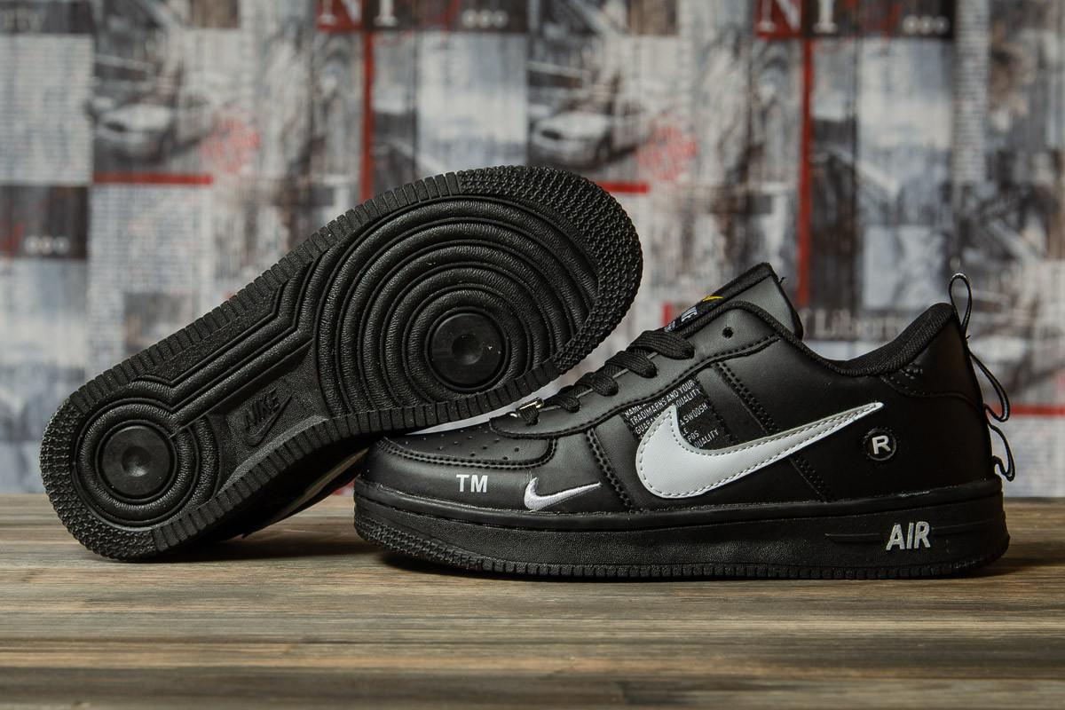 Кроссовки женские 16693, Nike Air, черные, < 36 37 38 39 > р. 36-22,5см.