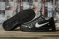 Кроссовки женские 16693, Nike Air, черные, < 36 37 38 39 > р. 36-22,5см., фото 1