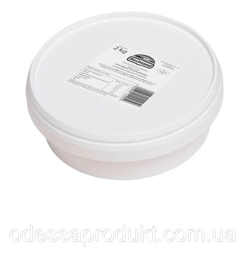 """Крем-сыр сливочный """"Хохланд Креметте"""" 2 кг"""