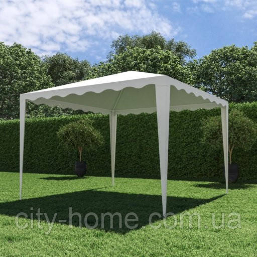 Садовый павильон 3х3 м белый