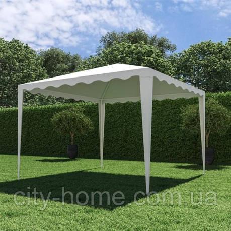 Садовий павільйон 3х3 м білий, фото 2