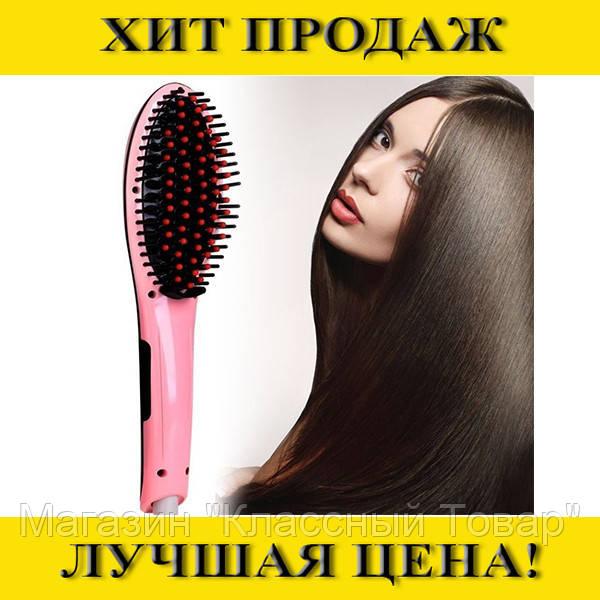 Расческа Fast hair HQT-906 (расческа-выпрямитель)