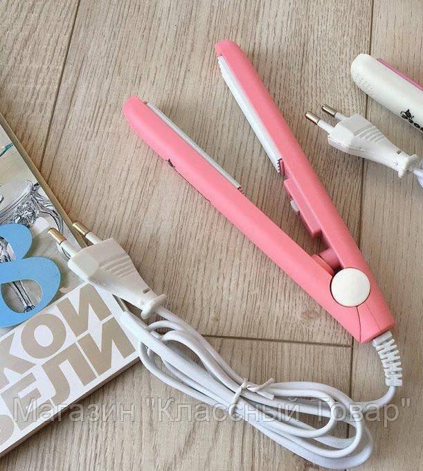 Плойка гофре для волос Pro Mozer MZ-7038 Розовый