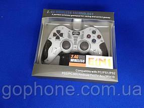 Универсальный Джойстик Wireless (PS2 PS3 PC Android TV Box)  белый