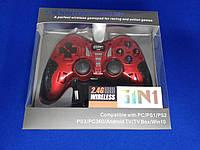 Универсальный Геймпад Wireless (PS2 PS3 PC Android TV Box) красный