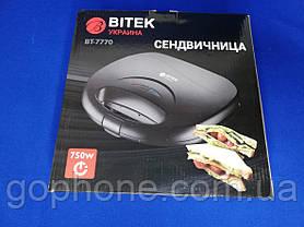 Электро сендвичница Bitek BT-7770 750ВТ, фото 3