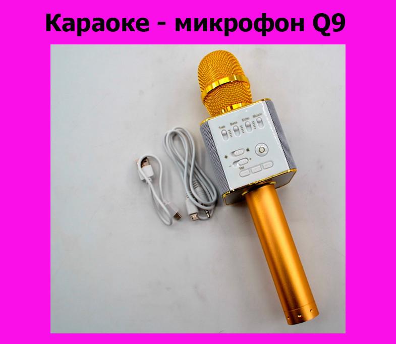 Караоке - микрофон Q9!Хит цена