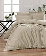 Комплект постельного белья Cotton Satin Snazzy Toprak First Choice Евро размер