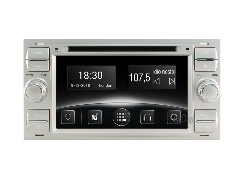 Штатная магнитола Ford Focus (DB), Mondeo (BA7), Connect, S-Max, 2004-2010 CarPlay