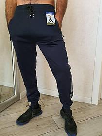 Мужские спортивные штаны с карманами ХЛОПОК (Арт. A787-3) | 6 пар